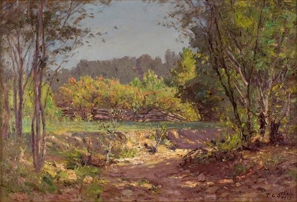 famous painting Landscape 11 of Theodore Clement Steele