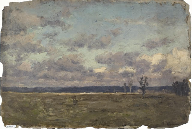 famous painting Landscape 15 of Theodore Clement Steele