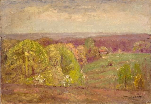 famous painting Landscape 3 of Theodore Clement Steele