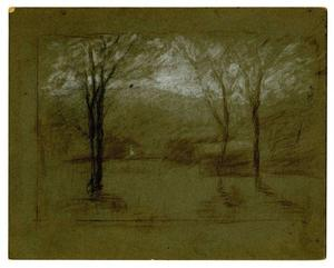 Theodore Clement Steele - Landscape 7