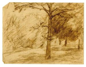 Theodore Clement Steele - Landscape sketch 10
