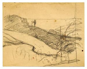 Theodore Clement Steele - Landscape sketch 5
