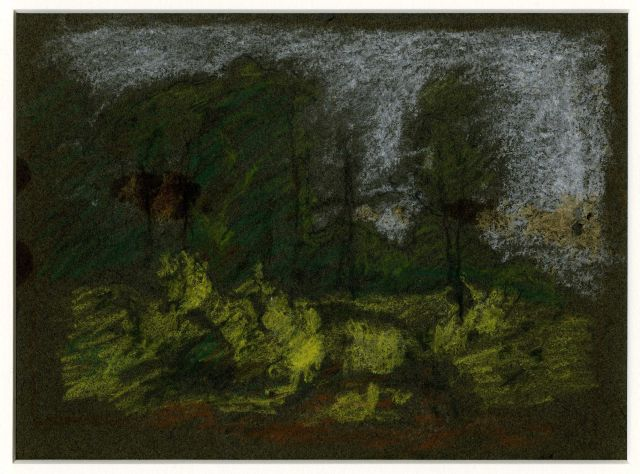 famous painting Landscape sketch 6 of Theodore Clement Steele