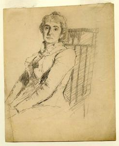 Theodore Clement Steele - Portrait of a woman 2
