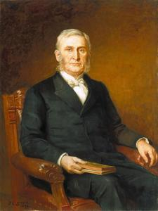 Theodore Clement Steele - Portrait of Reverend Nathaniel A. Hyde