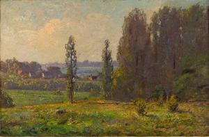 Theodore Clement Steele - Spring in the Hills (Midsummer, Brookville)