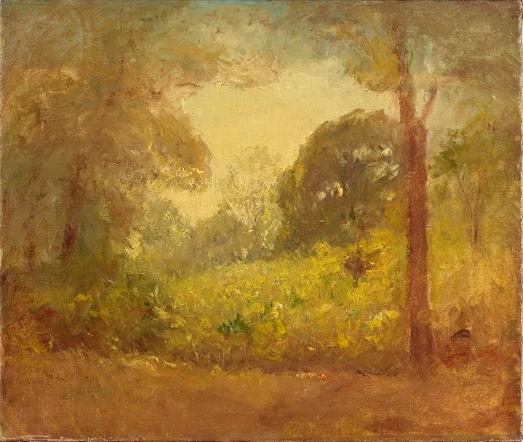 famous painting Untitled landscape of Theodore Clement Steele