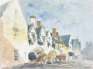 Thomas Girtin - Street in Weymouth, Dorset