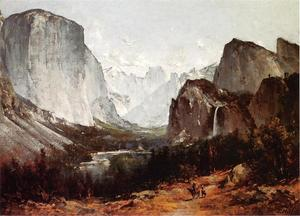 Thomas Hill - A View of Yosemite Valley