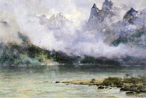 Thomas Hill - Alaska Scene near Juneau
