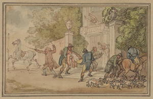 Thomas Rowlandson - Return from the hunt