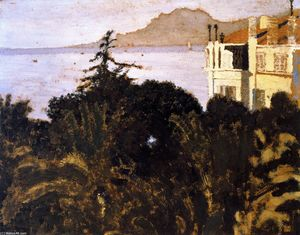 Jean Edouard Vuillard - Cannes, Garden on the Mediterranean
