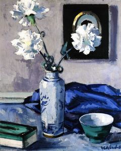 Francis Campbell Boileau Cadell - Carnations