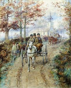 Edward Lamson Henry - Carriage Ride