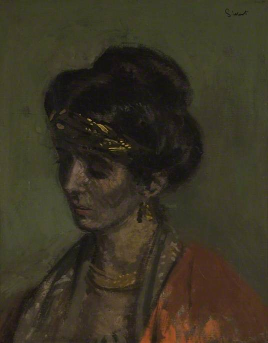 famous painting Celia Brunel, Lady Noble of Walter Richard Sickert
