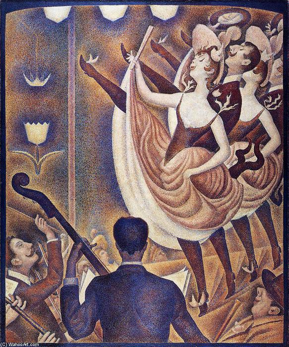 famous painting Chahut of Georges Pierre Seurat