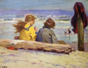 Edward Henry Potthast - The Chaperones