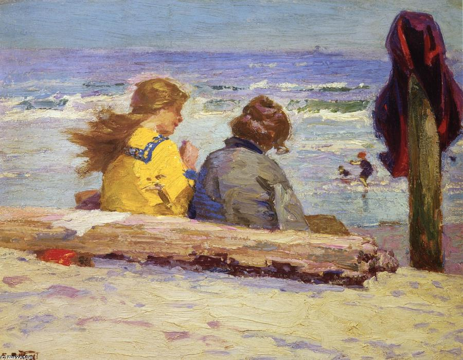 famous painting The Chaperones of Edward Henry Potthast