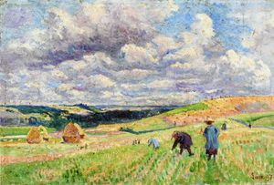 Maximilien Luce - Children in the Fields