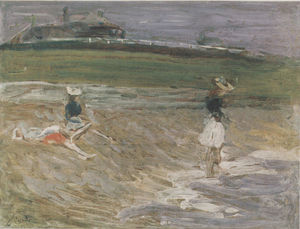 Philip Wilson Steer - Children on the Beach, Southwold