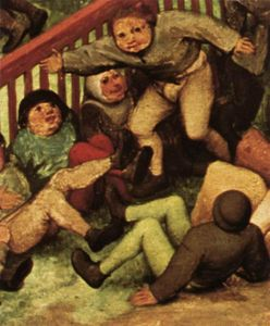 Pieter Bruegel The Elder - Children's Games (detail) (8)
