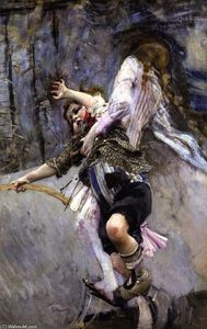 Giovanni Boldini - Child with Hoop