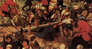 Pieter Bruegel The Elder - Christ Carrying the Cross (detail)