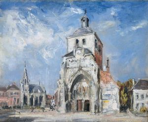 Philip Wilson Steer - The Church at Montreuil