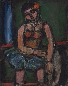 Georges Rouault - Circus Girl