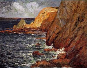 Maxime Emile Louis Maufra - Cliffs