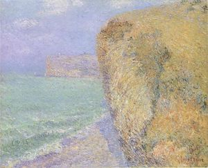 Gustave Loiseau - Cliffs at Grainval