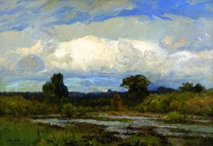 Theodore Clement Steele - The Cloud