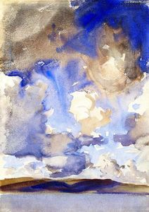 John Singer Sargent - Clouds (also known as A Sky)