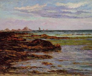 Maxime Emile Louis Maufra - The Coastline in Brittany