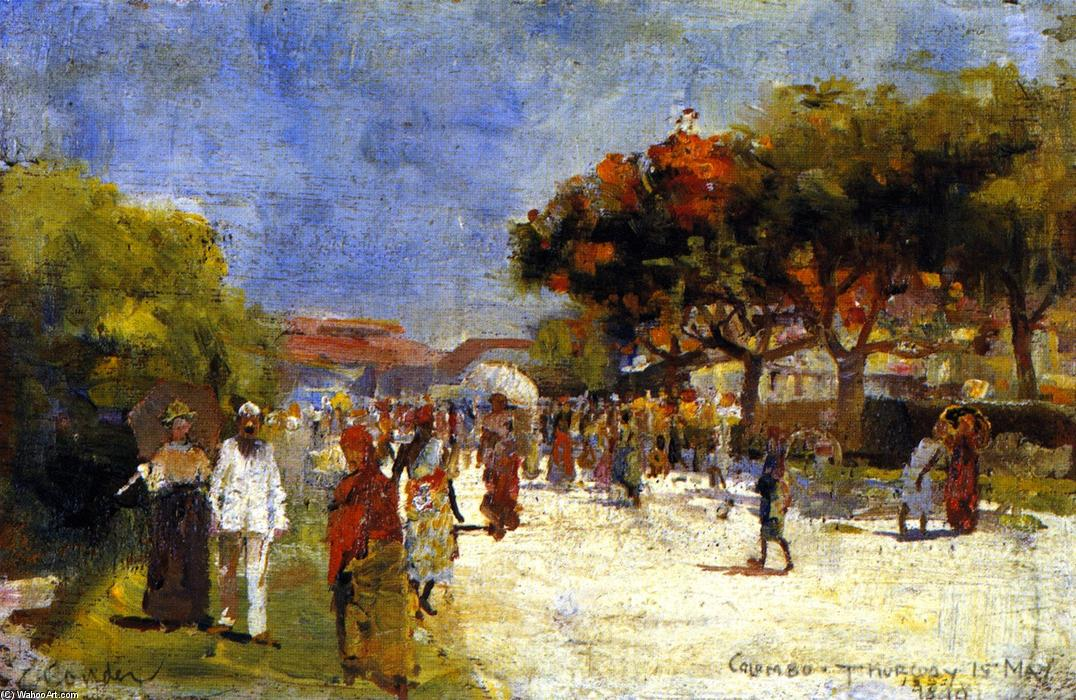 famous painting Colombo of Charles Edward Conder
