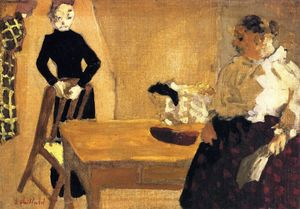 Jean Edouard Vuillard - The Conversation