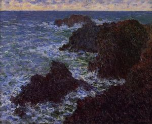 Claude Monet - The Cote Sauvate