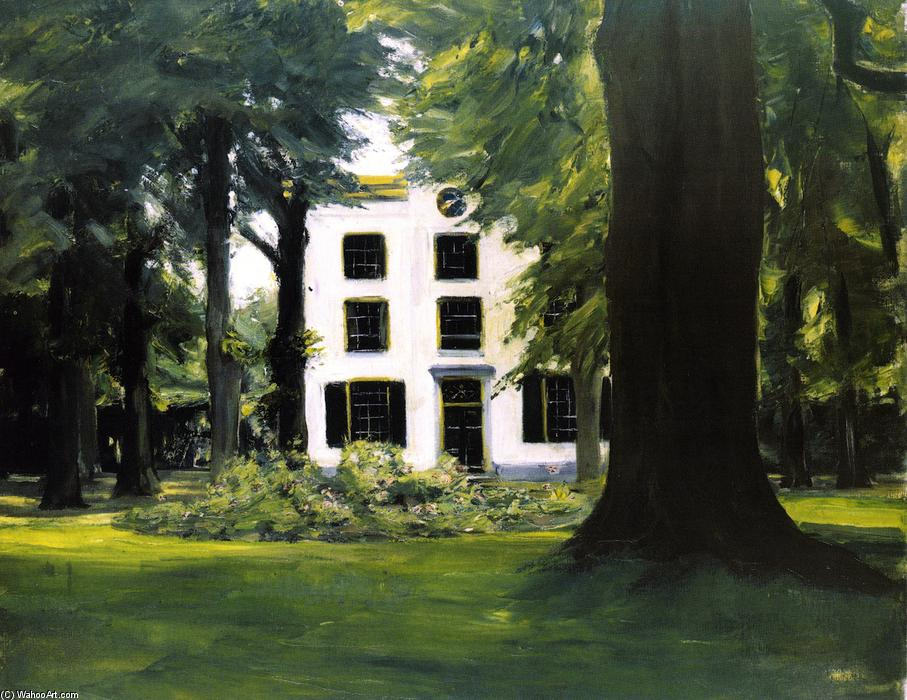 famous painting Country House in Hilversum (also known as Villa in Hilversum) of Max Liebermann