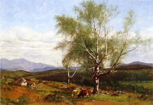 James Mcdougal Hart - Cows Grazing in a Valley