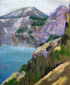 Arthur Wesley Dow - Crater Lake