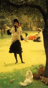 James Jacques Joseph Tissot - Croquet