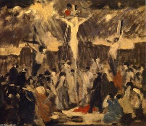 Robert Spencer - Crucifixion, Sketch #3