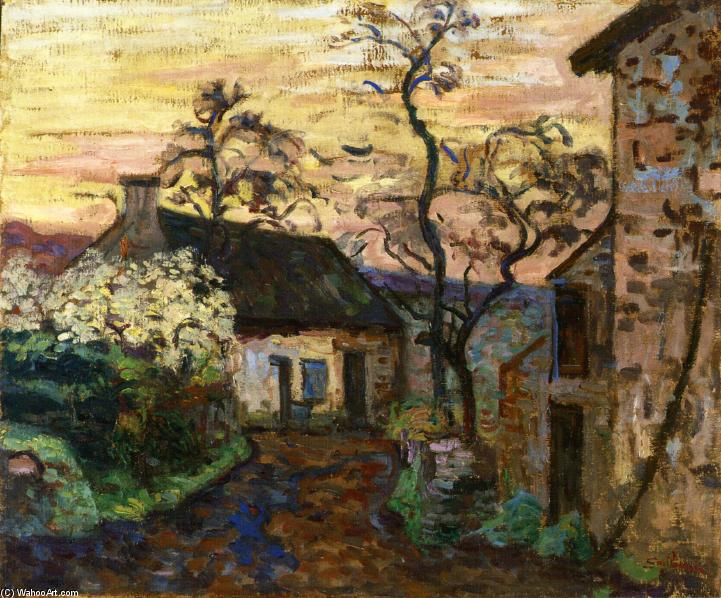 famous painting Damiette (also known as Vallee de Chevreuse) of Jean Baptiste Armand Guillaumin