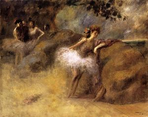 Jean Louis Forain - Dancer on the Set