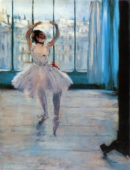 famous painting Dancer Posing of Edgar Degas