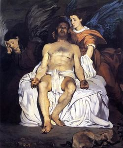 Edouard Manet - The Dead Christ and the Angels