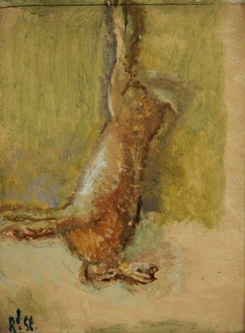 famous painting A Dead Hare of Walter Richard Sickert