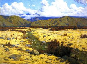 Elmer Wachtel - Desert, River, Mountains