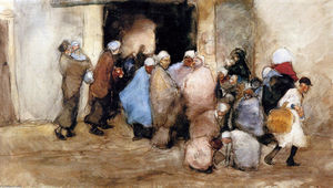George Hendrik Breitner - Distribution of Soup