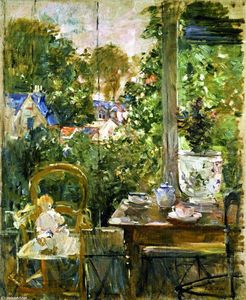 Berthe Morisot - Doll on a Porch